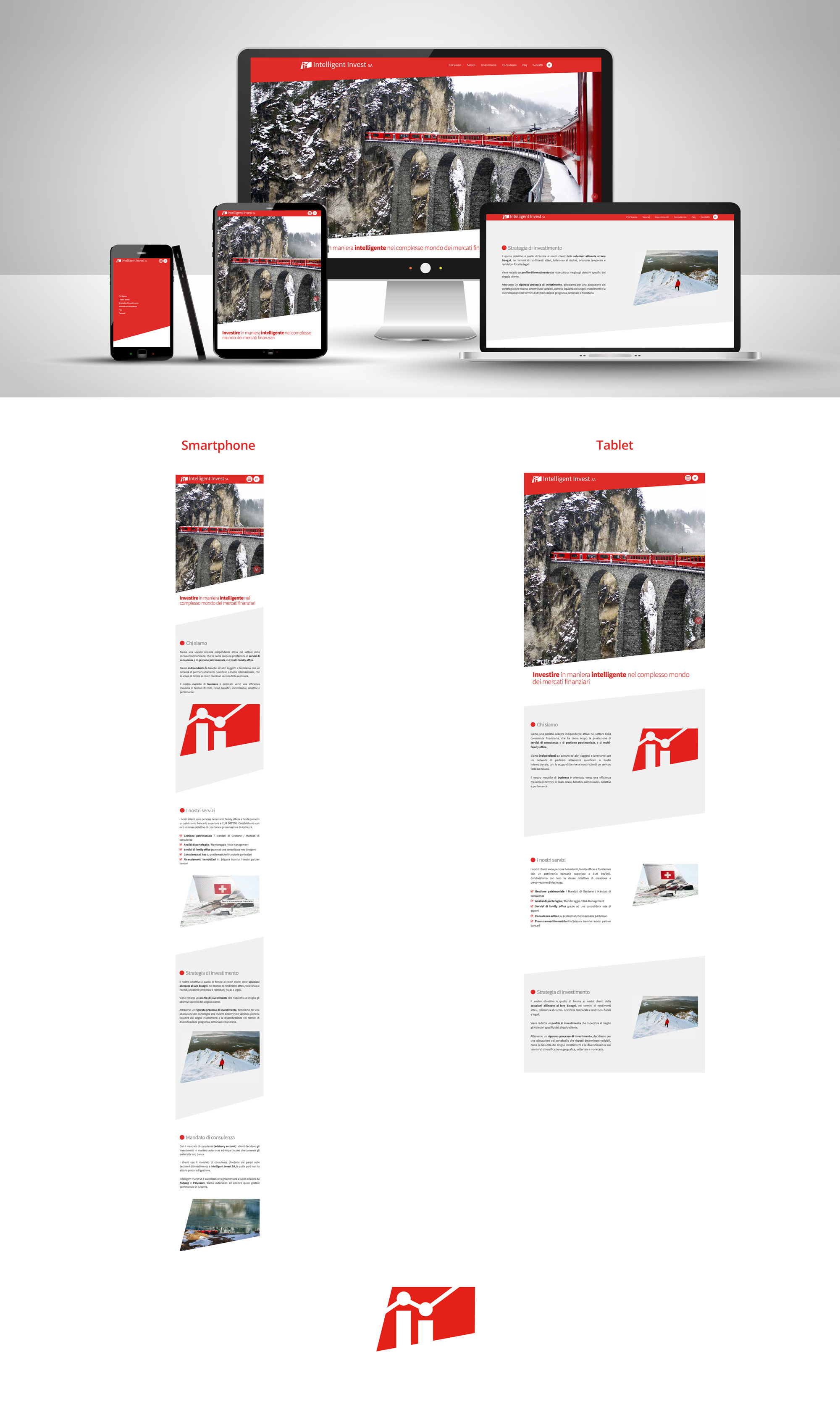 corporate identity - Website design