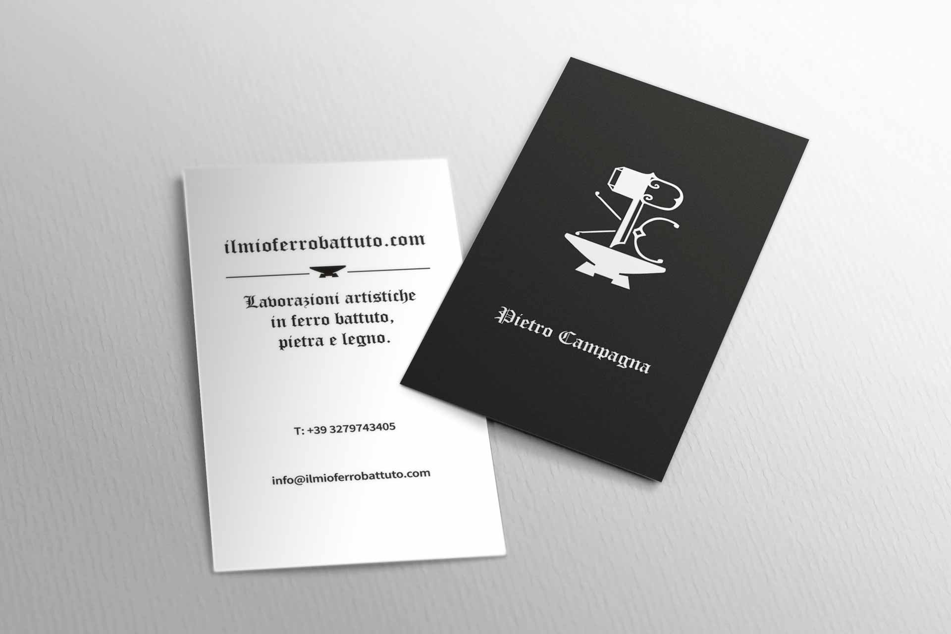 Logo redesign - Business card