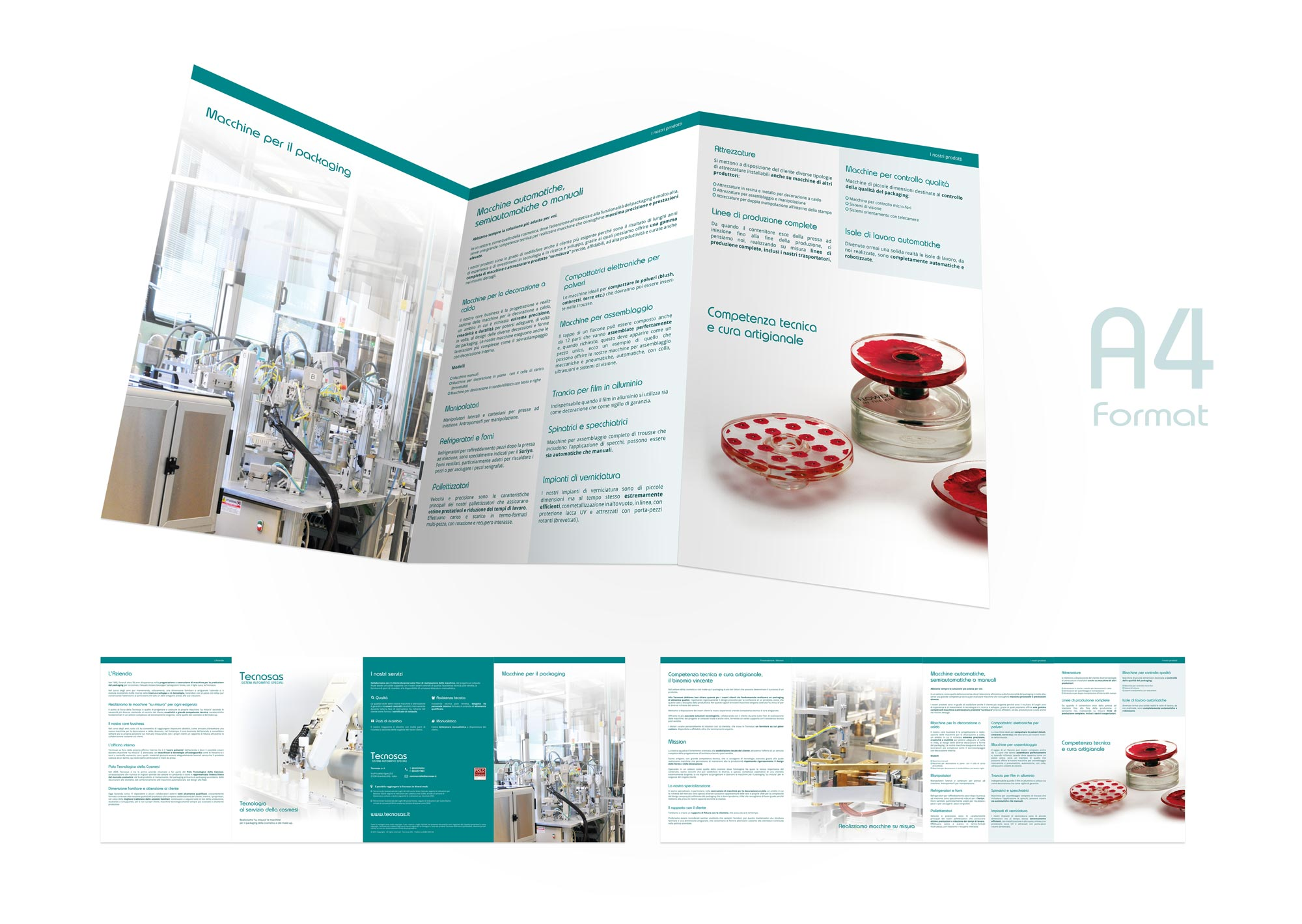 Corporate image - Brochure design