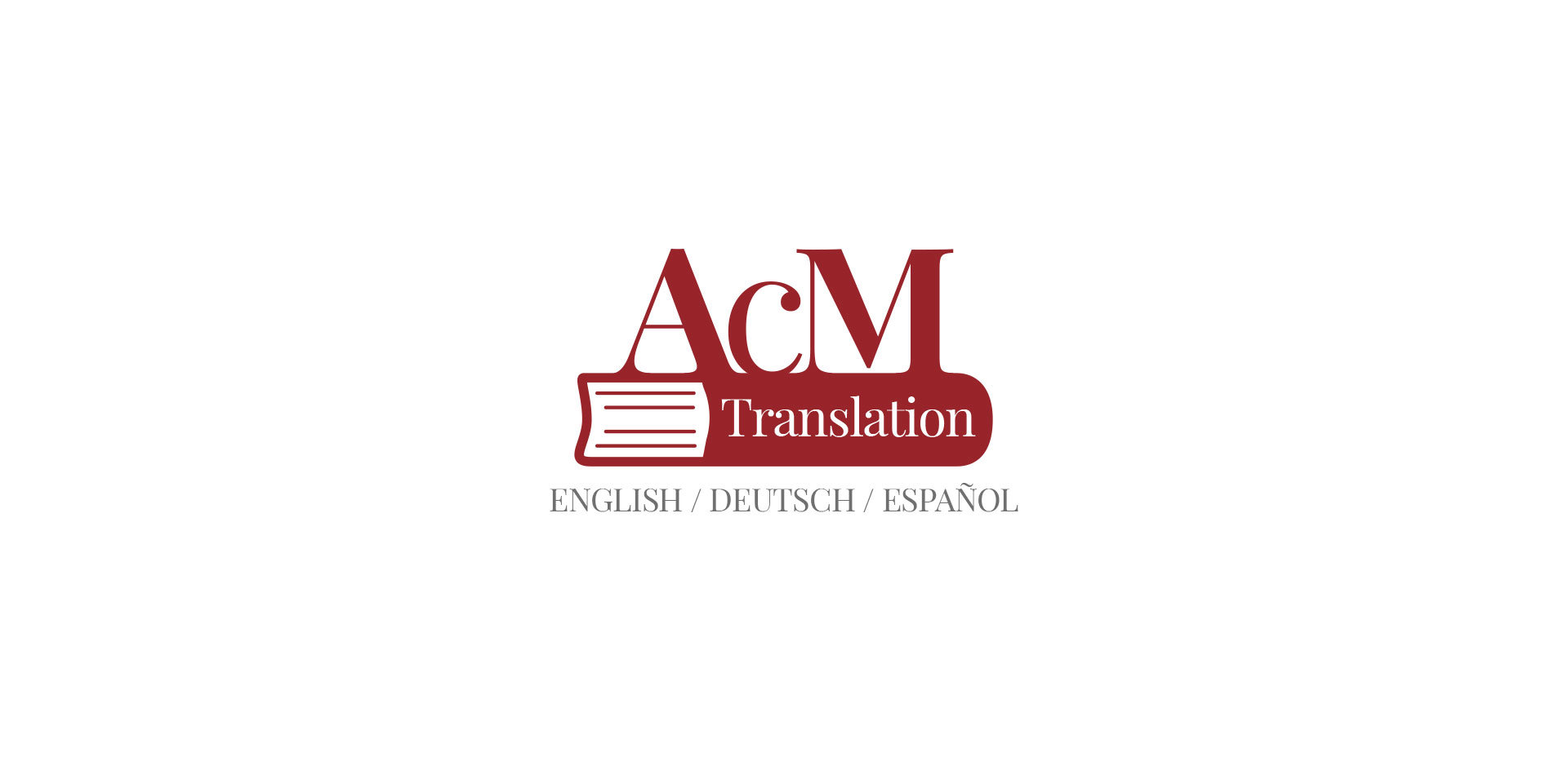 Logo creation for freelance translator