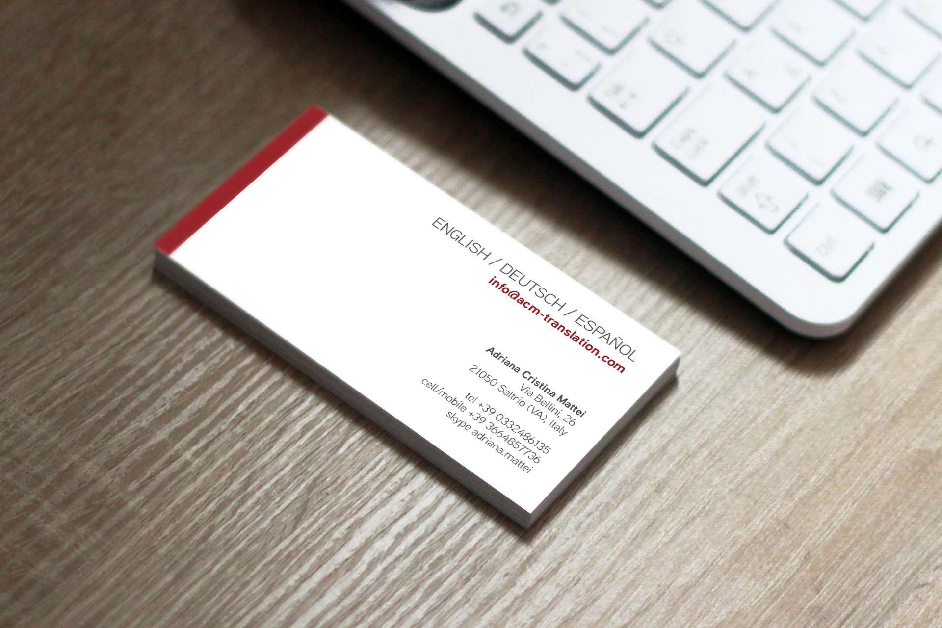 Logo creation and business card