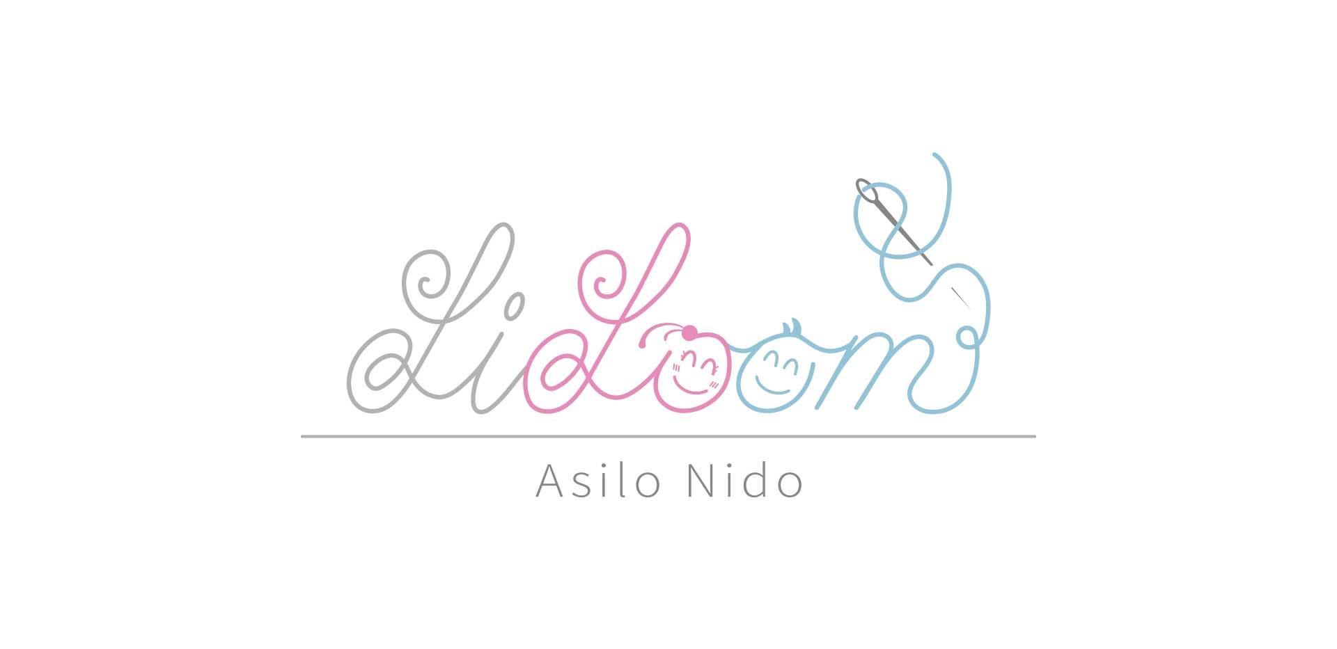 Logo design asilo nido lillom