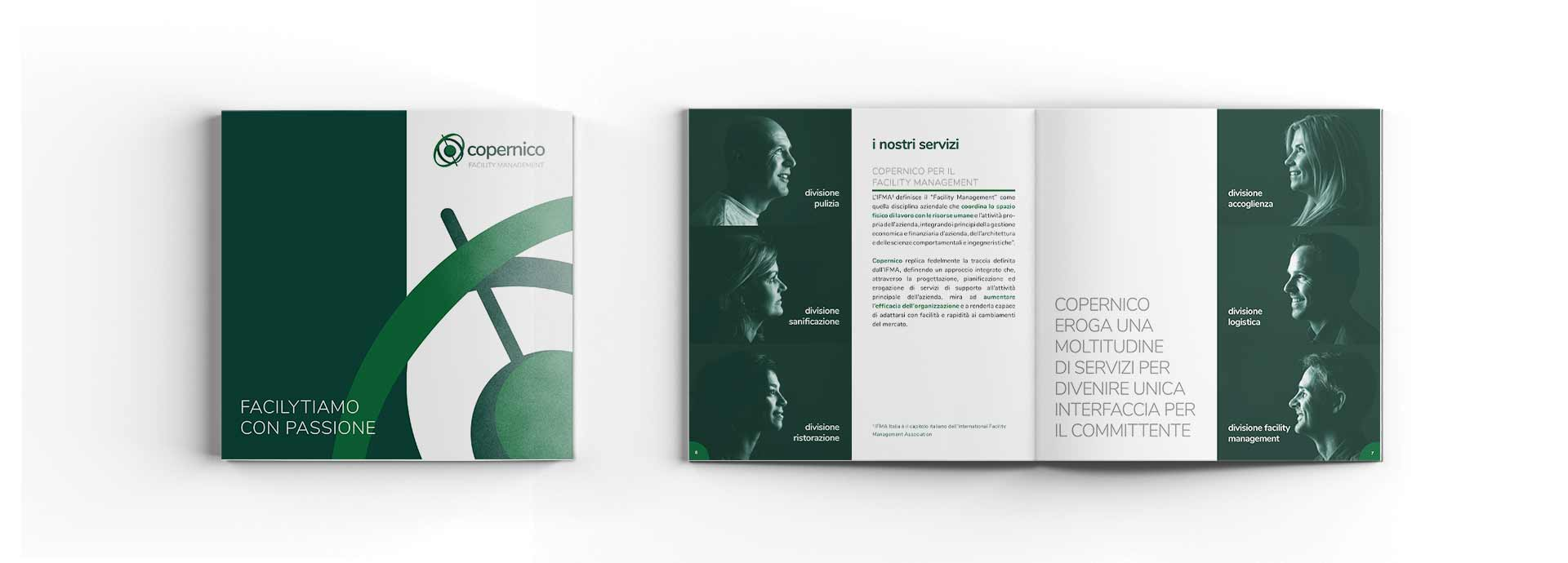 corporate identity designer - brochure