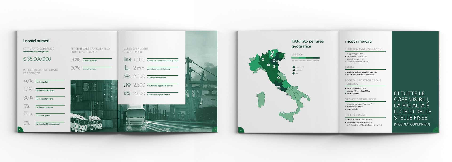 design brochure copernico