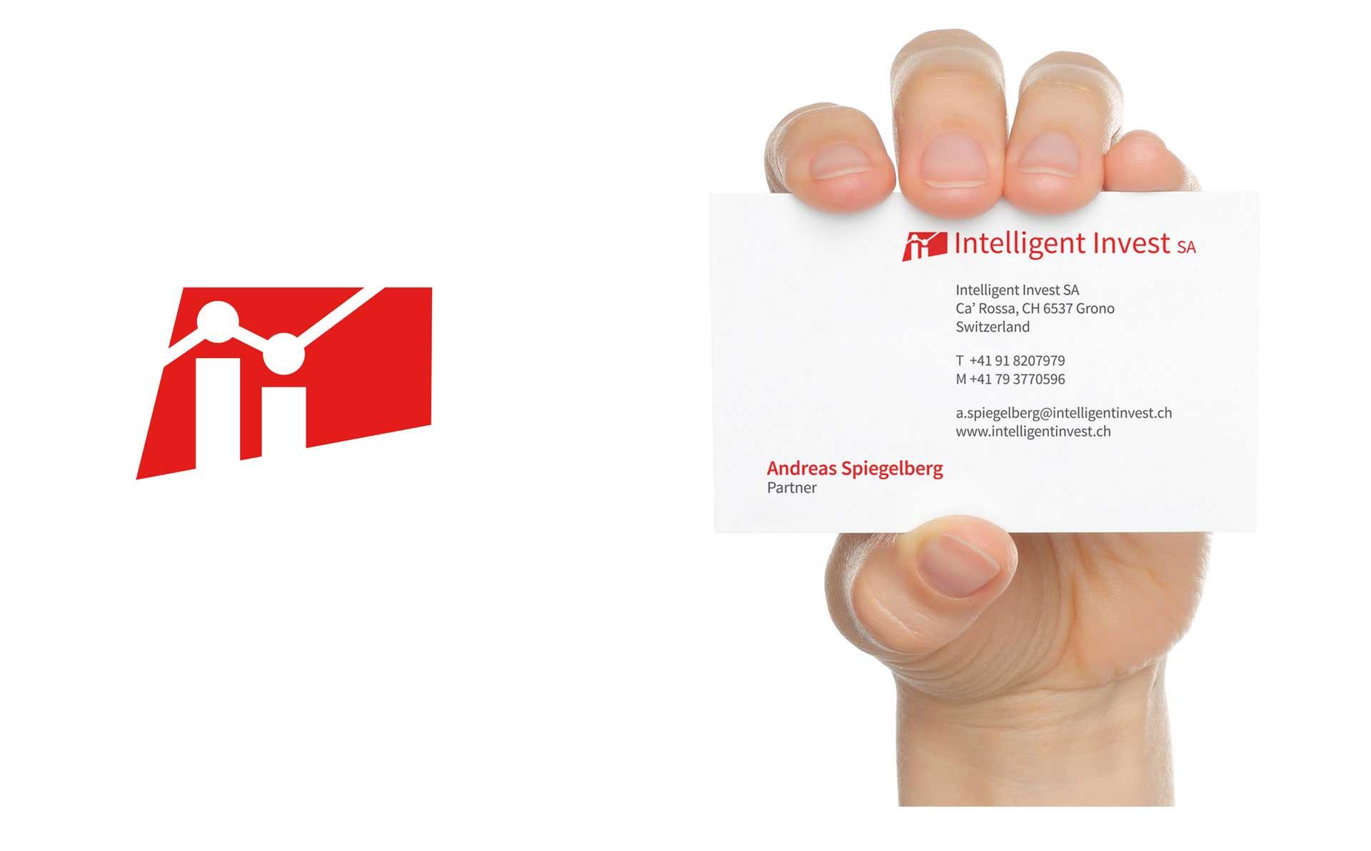 immagine aziendale - biglietto da visita per azienda finanziara