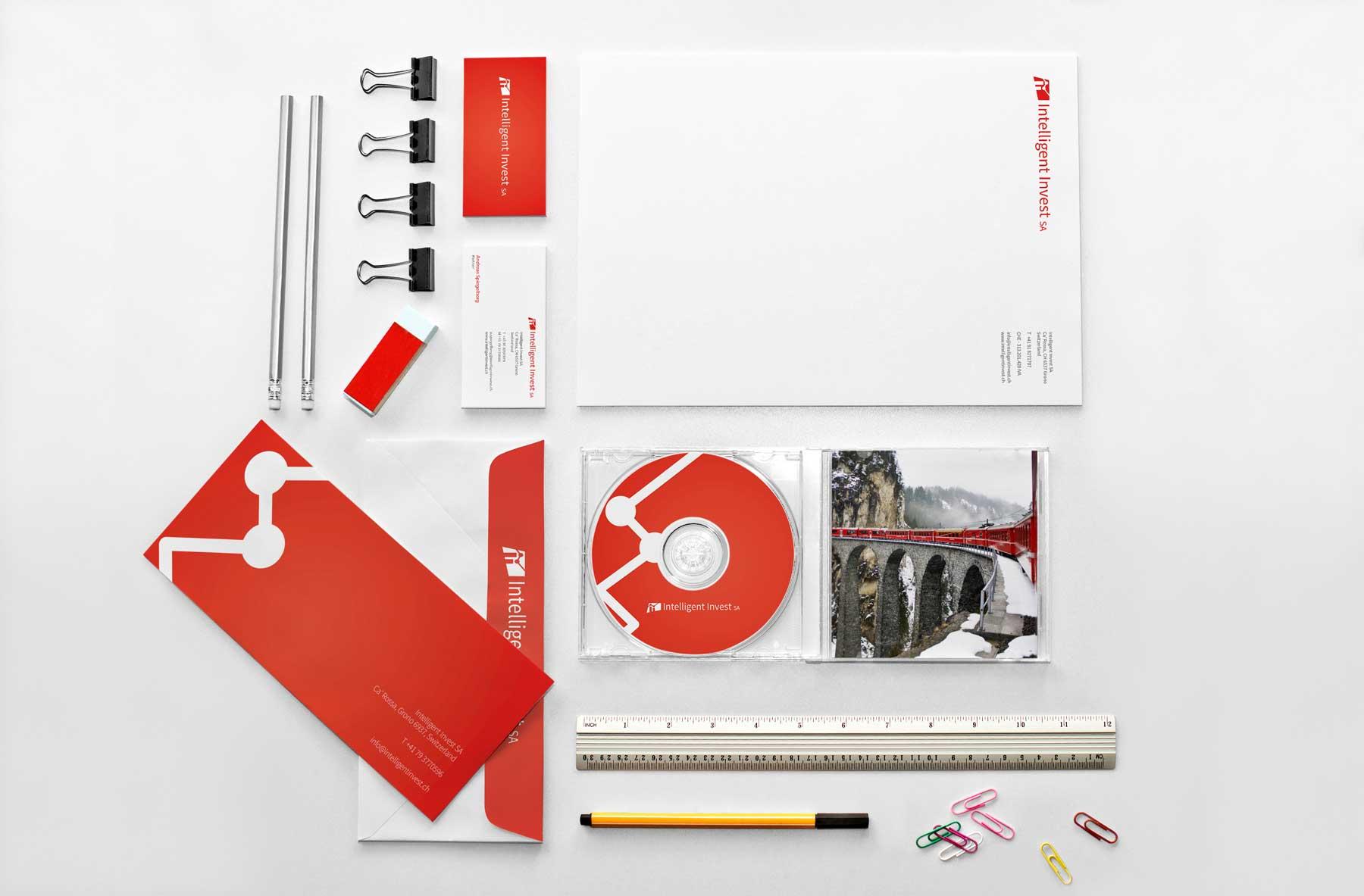 identity example - freelance identity designer