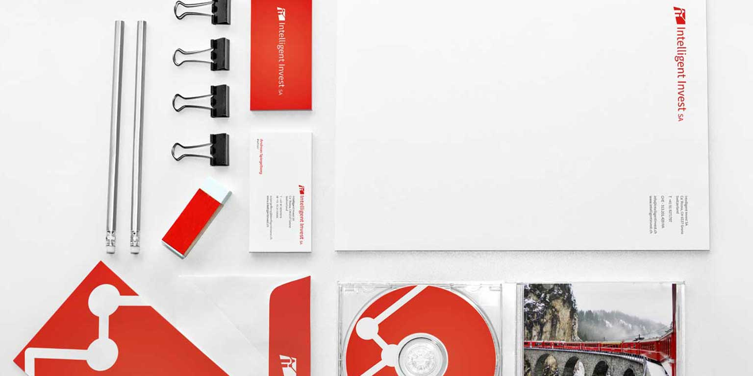 Financial company Corporate identity design