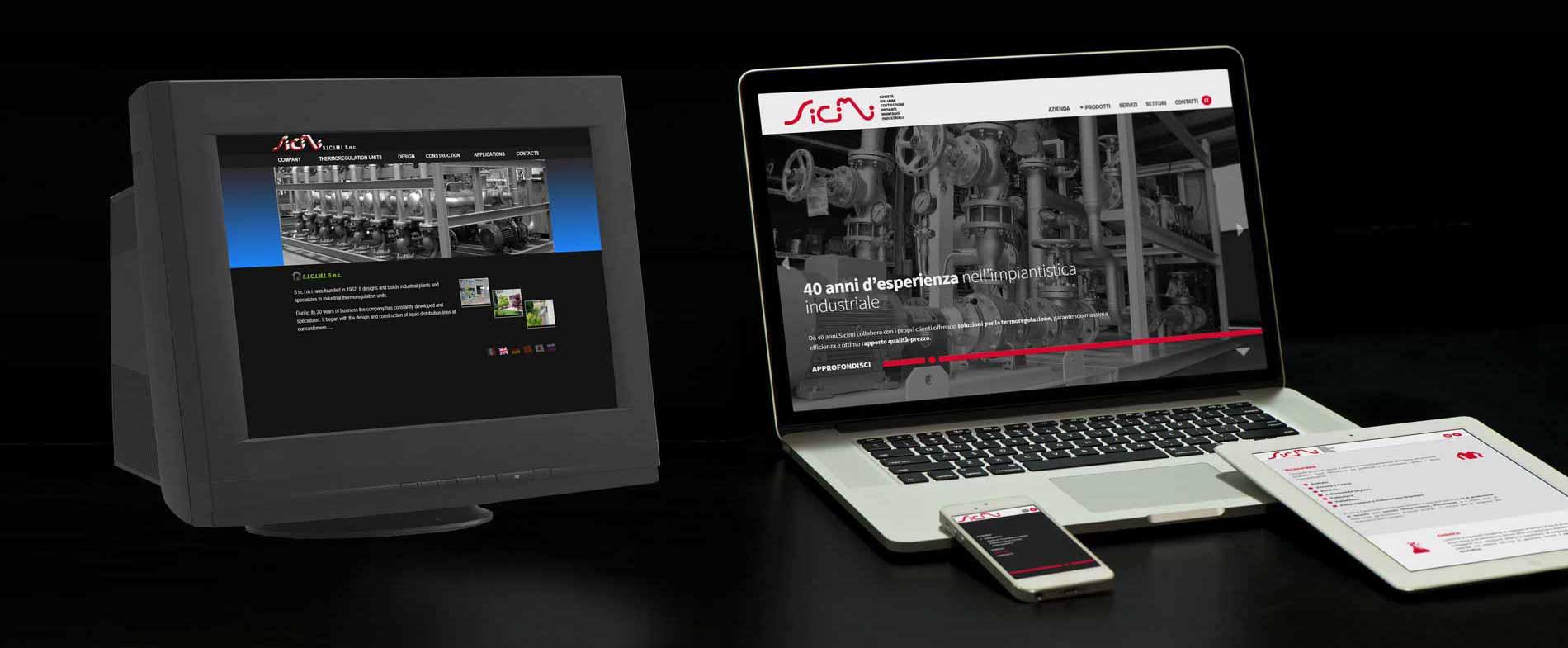 identity designer - modern web design