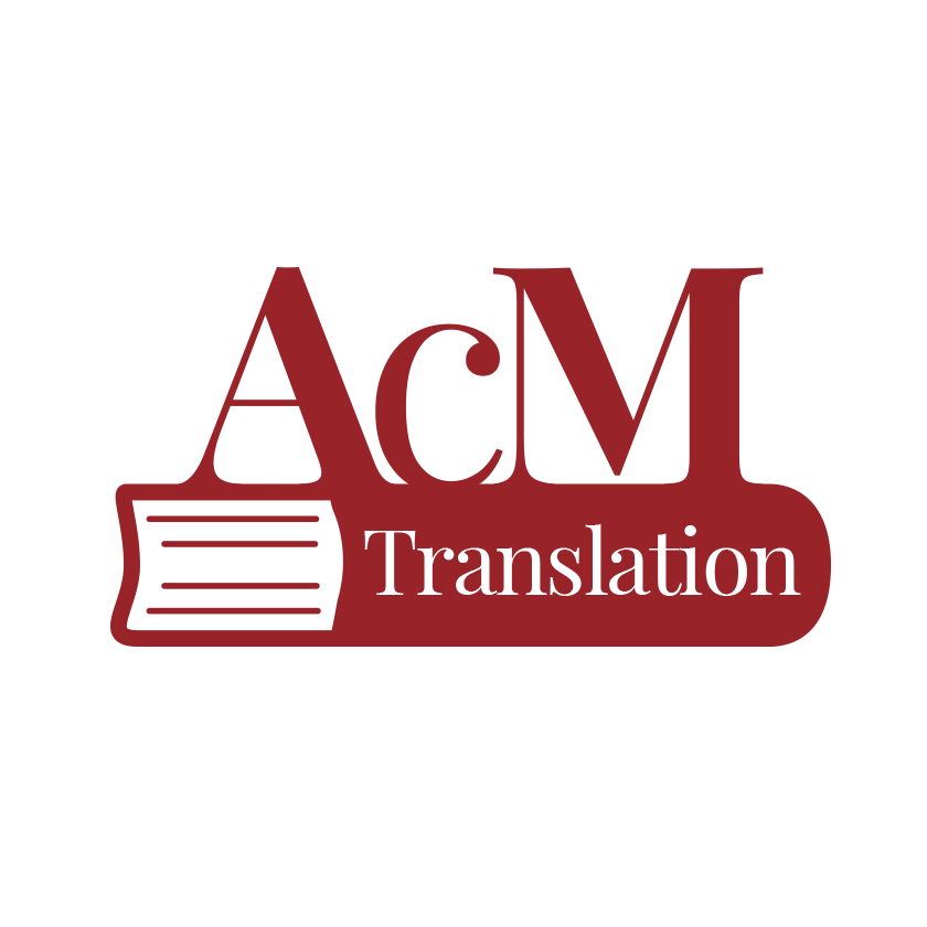 modern logo design - ACM