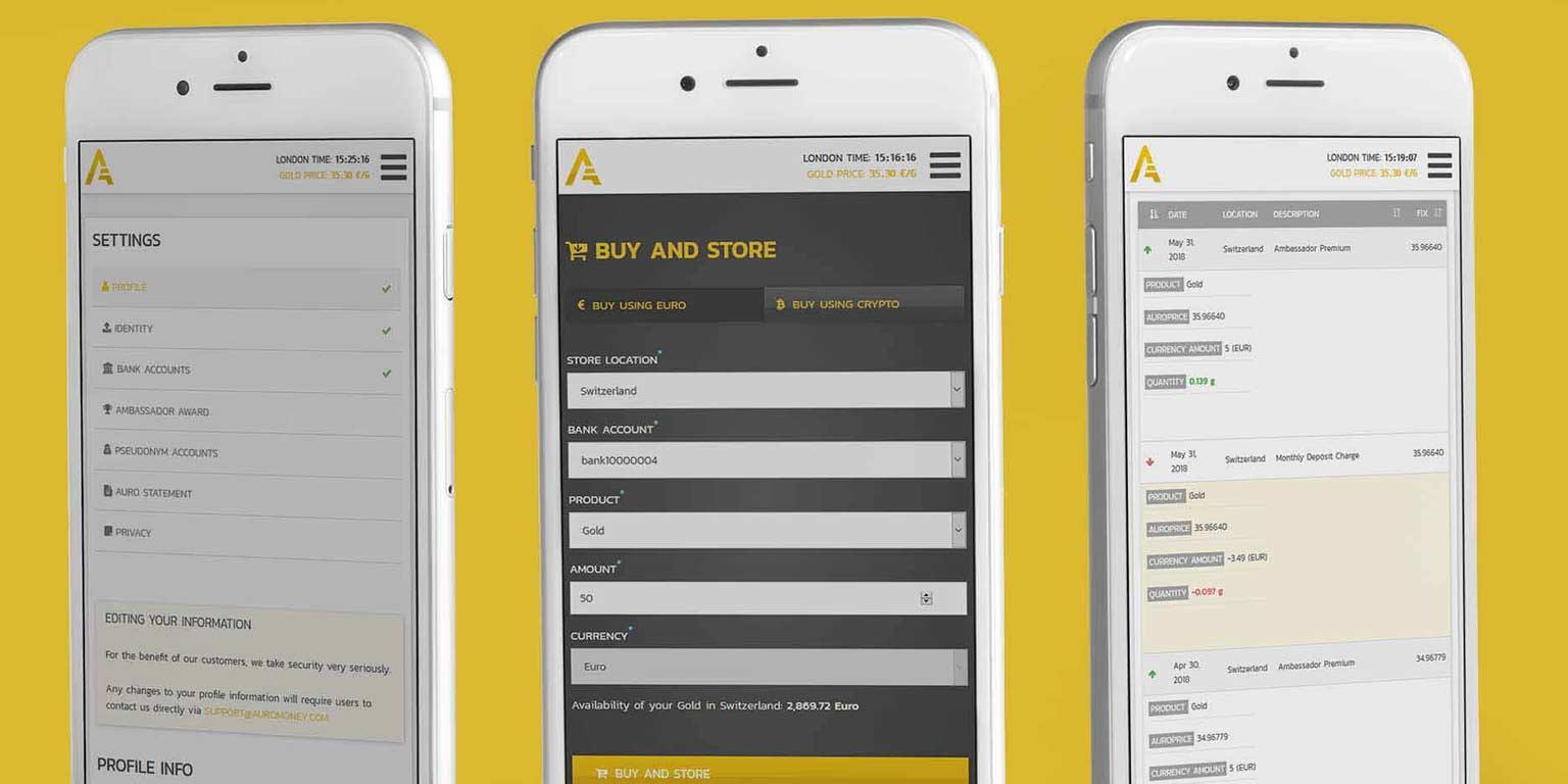 Brand identity design and app design