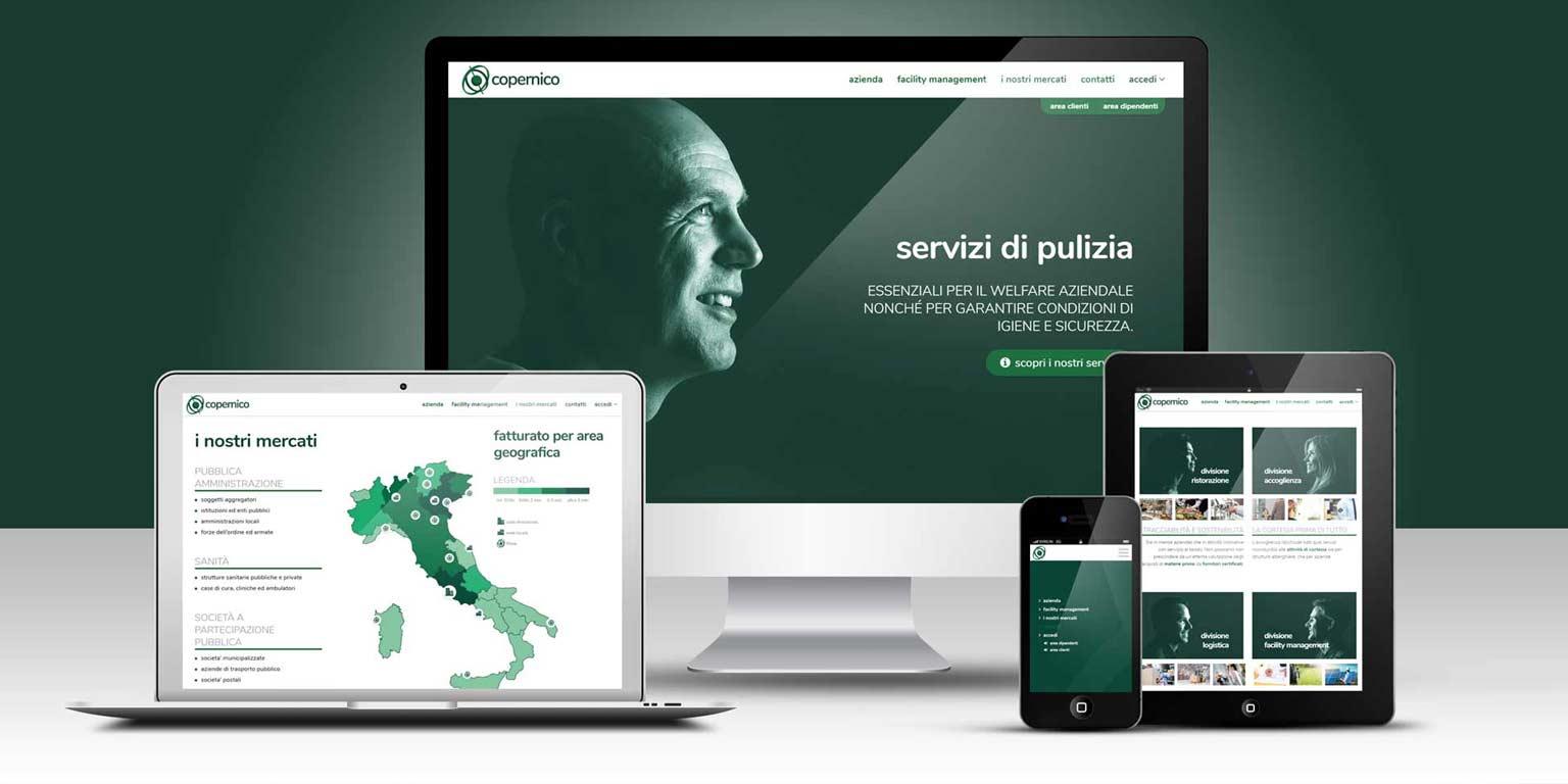 Corporate identity designer website