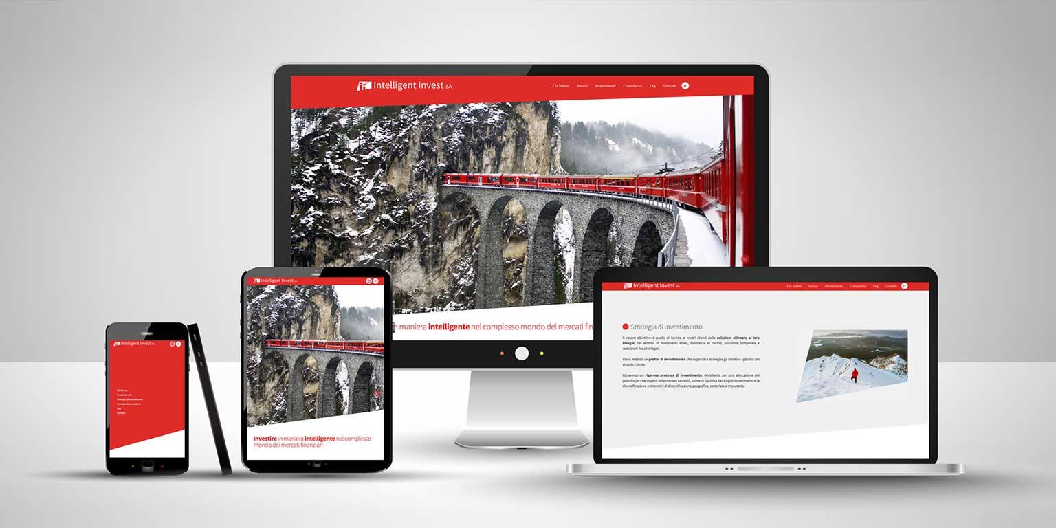 Realizzazione sito web moderno