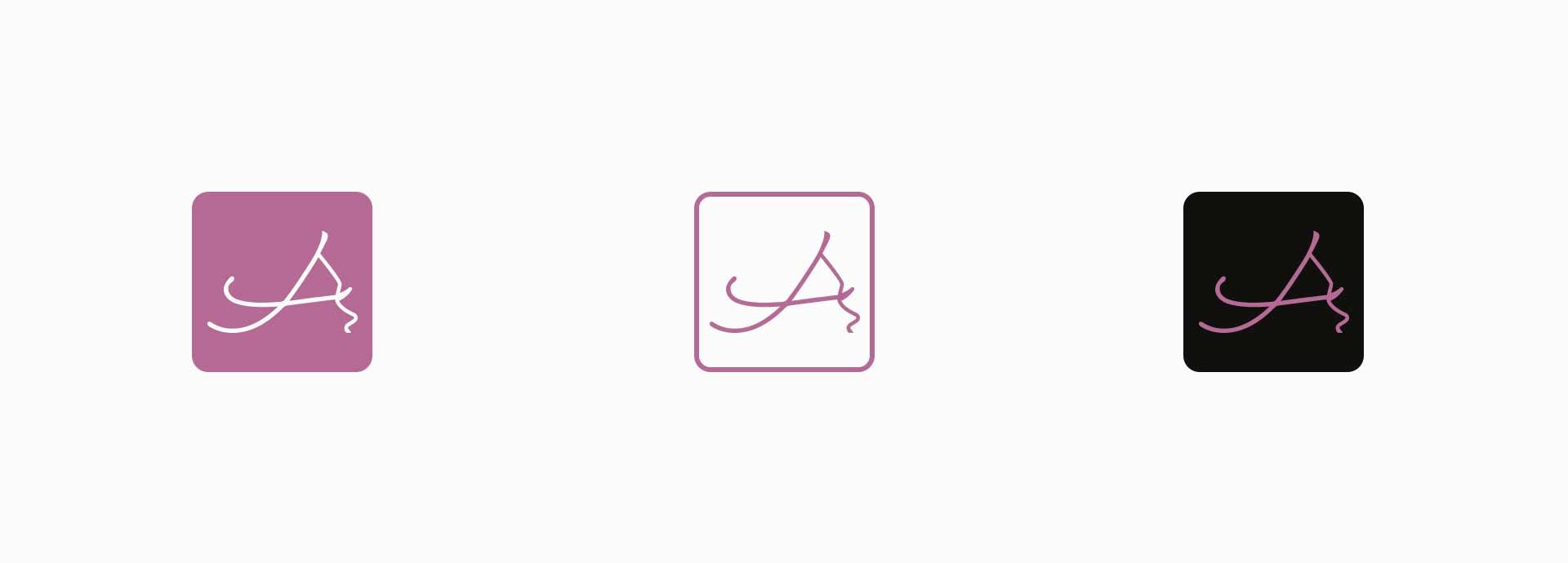 design del marchio e del simbolo amelia
