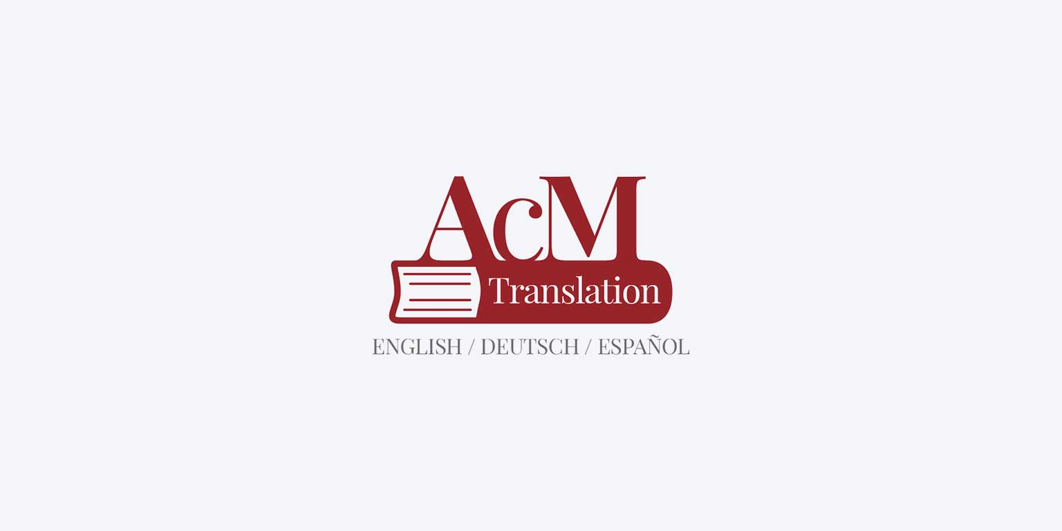 modern logo design acm