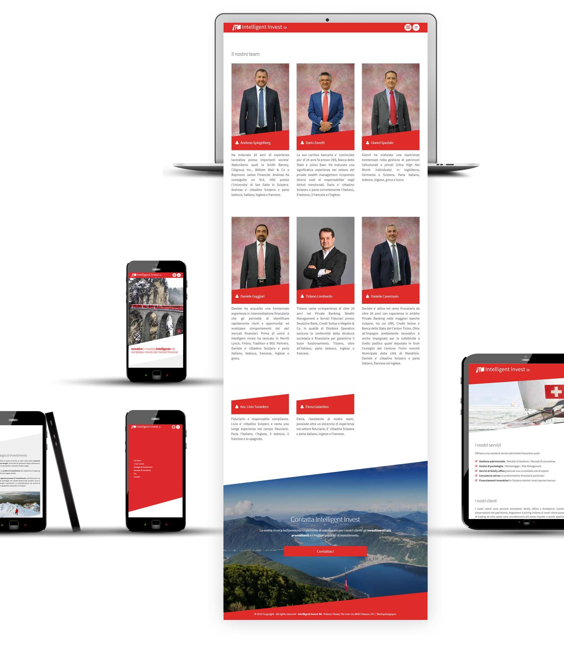 corporate identity startupdesignpro intelligent invest