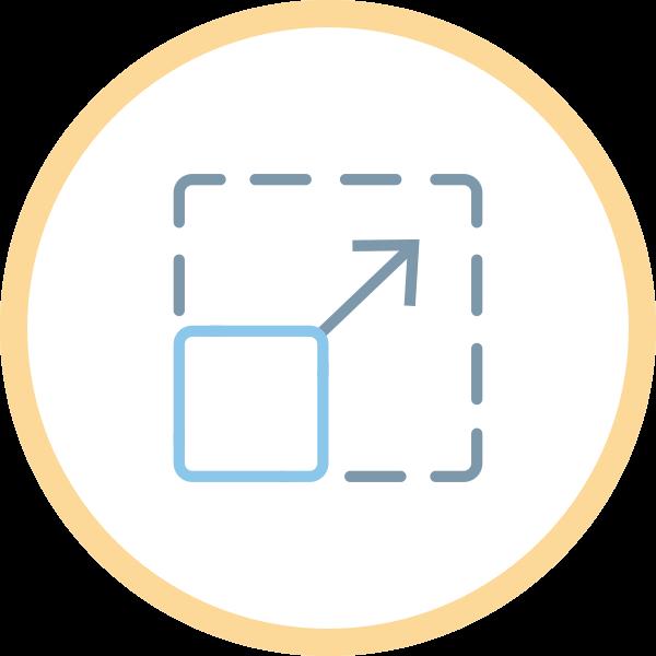 icona logo scalabile