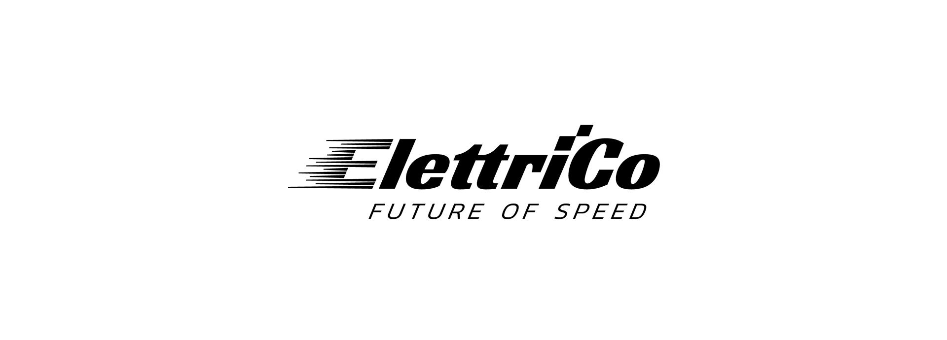 logo startup elettrico nero