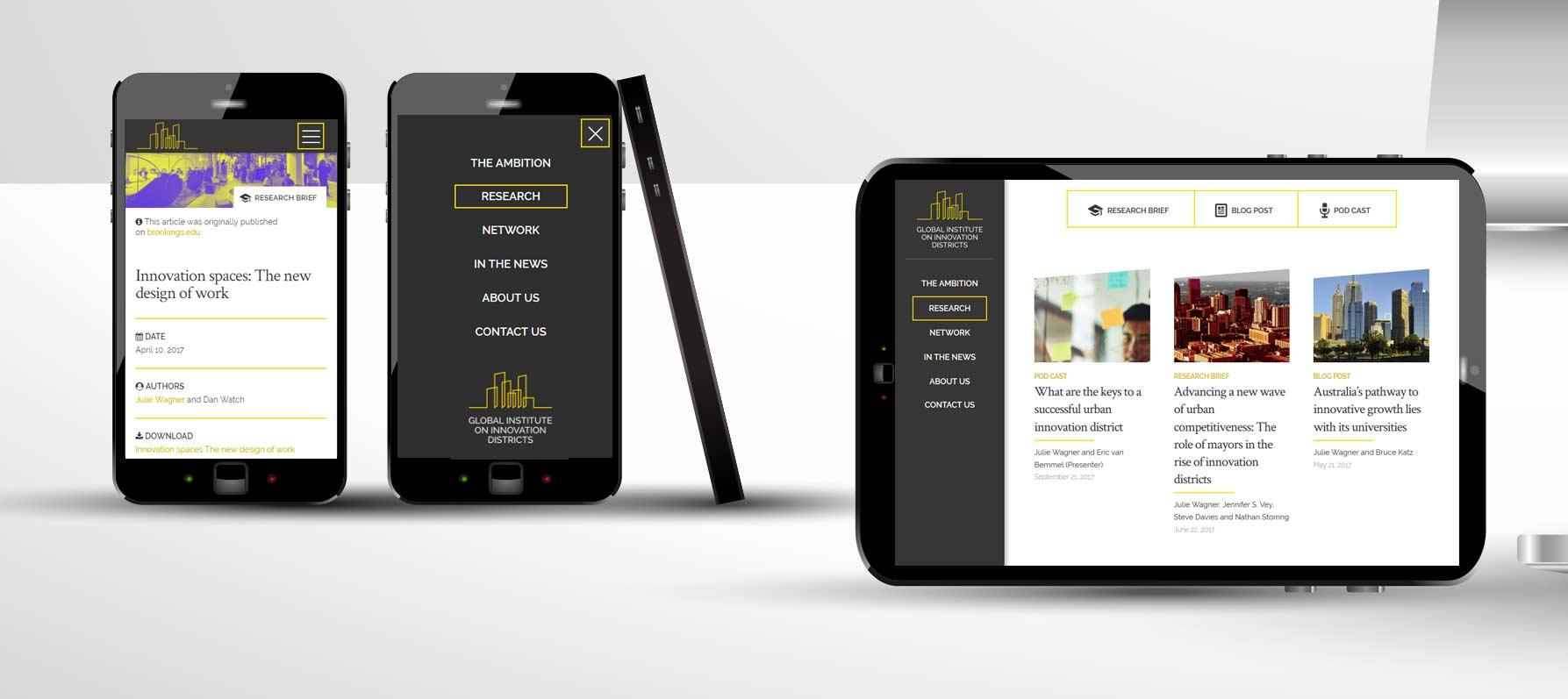 website design startup