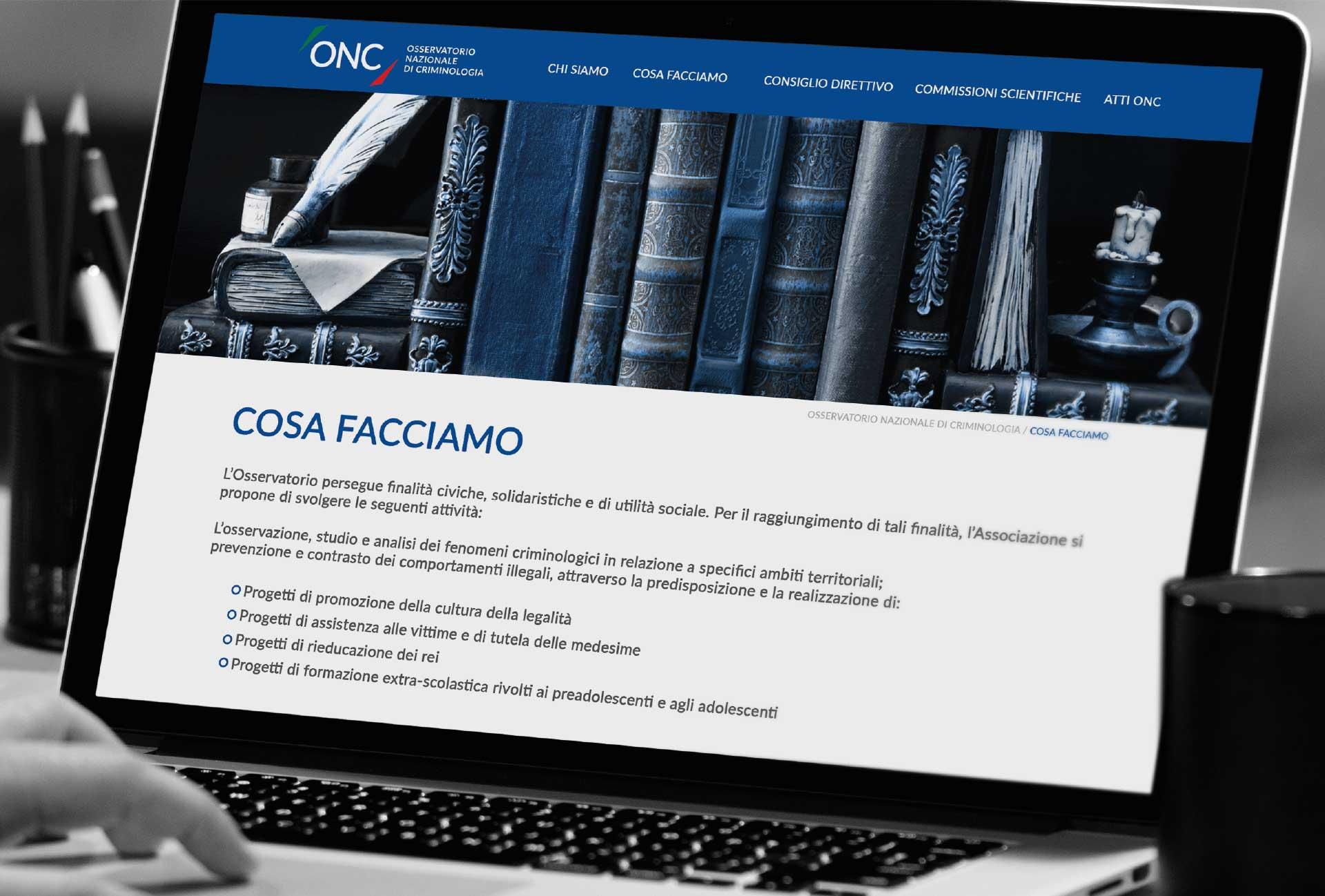design sito web non profit