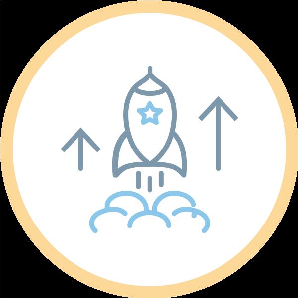 icon Graphic design services for startups