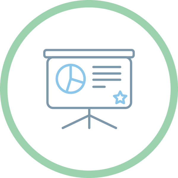 icon powerpoint design company presentation