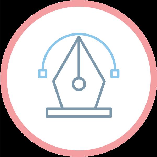 icona logo professionale vettoriale