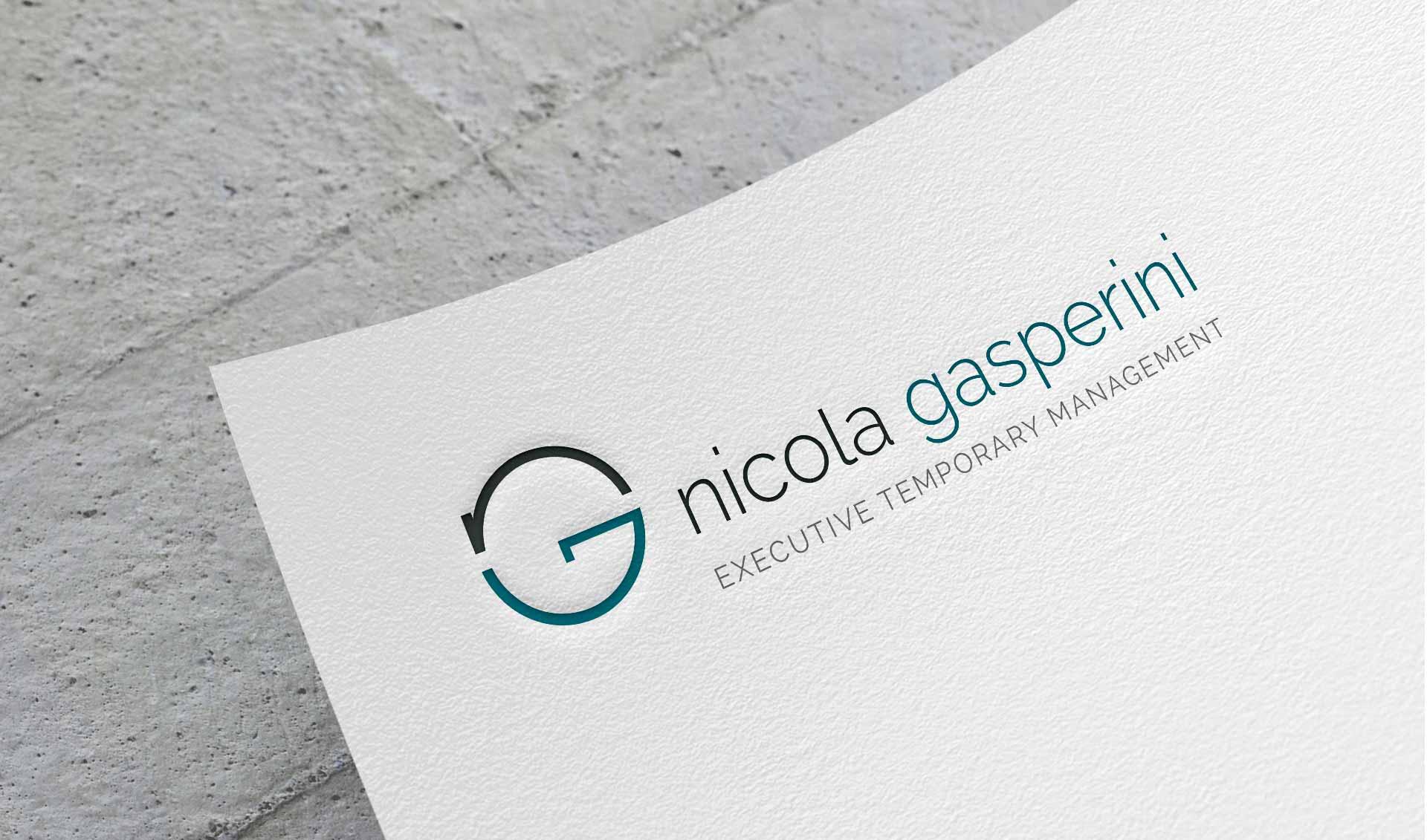 Logo per freelance iniziali nome cognome