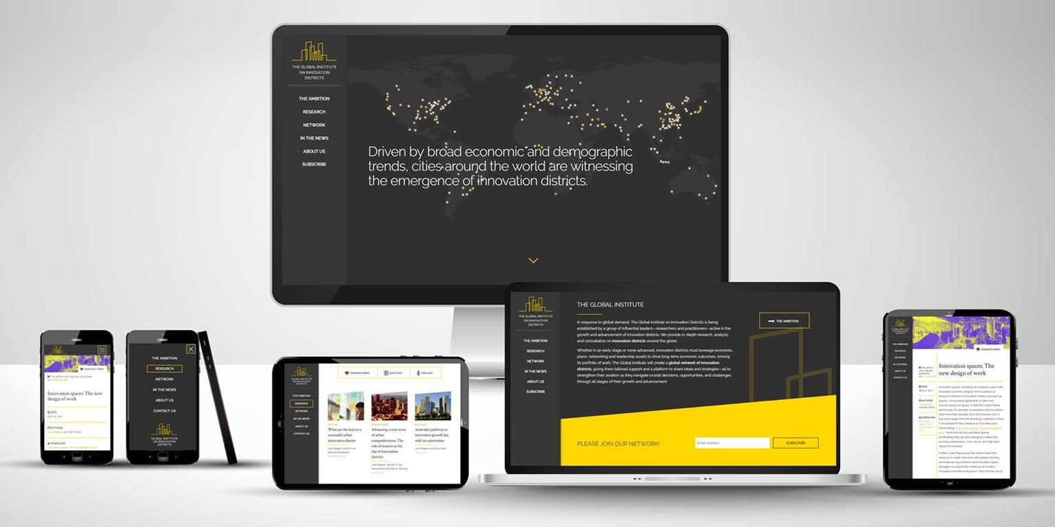 Realizzazione sito web startup svizzera