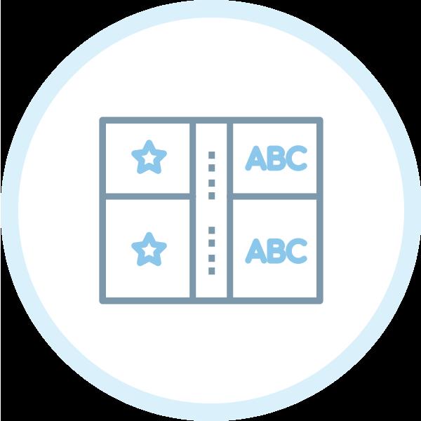 icona guida utilizzo logo design