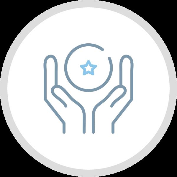 icona progettazione grafica logo non profit