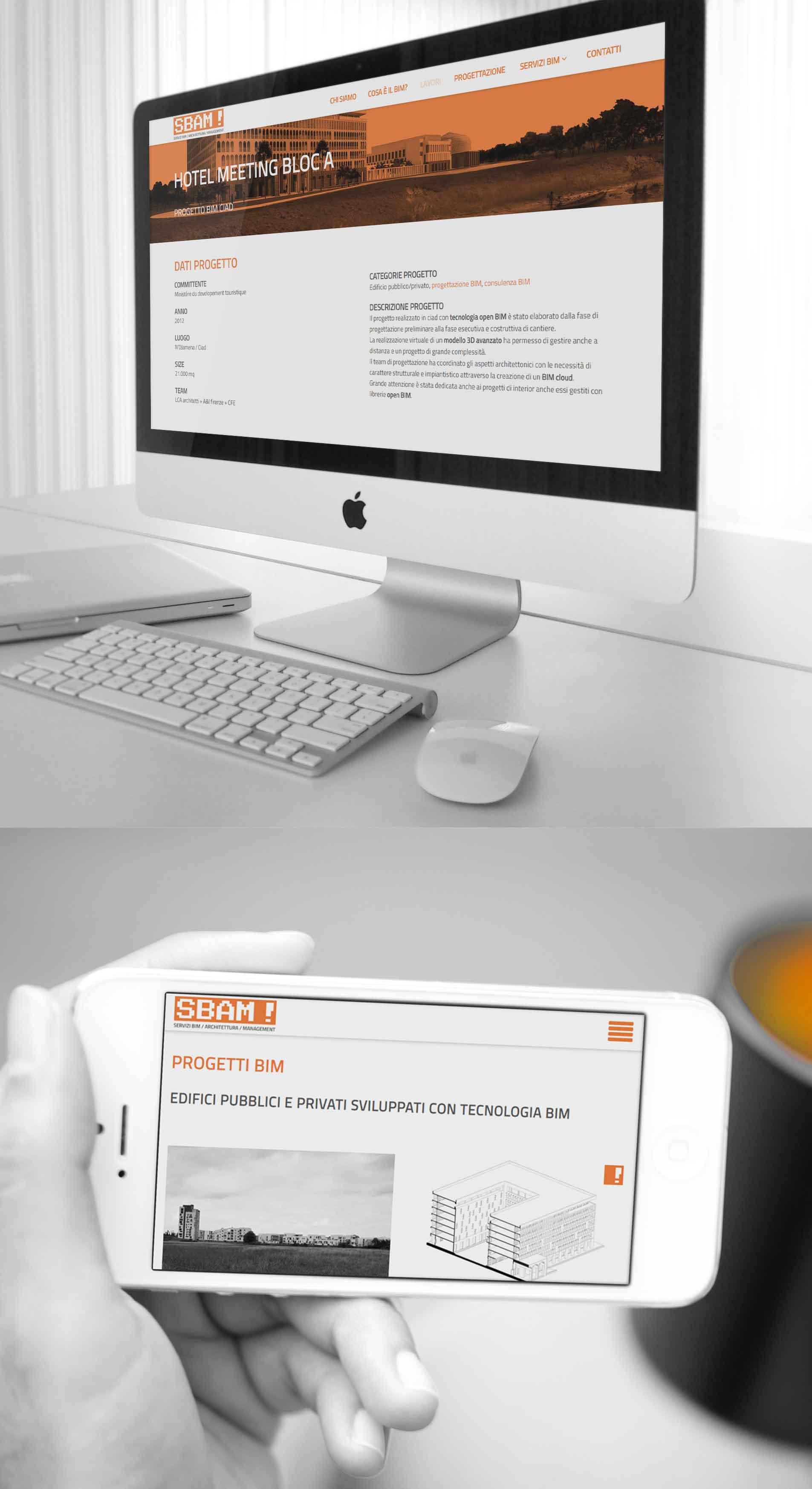 Company identity website responsive