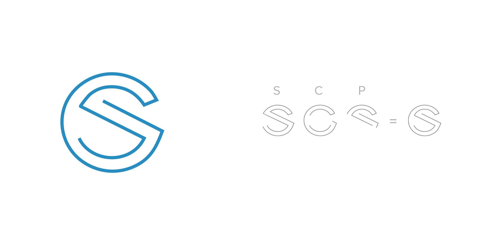 initials company corporate identity