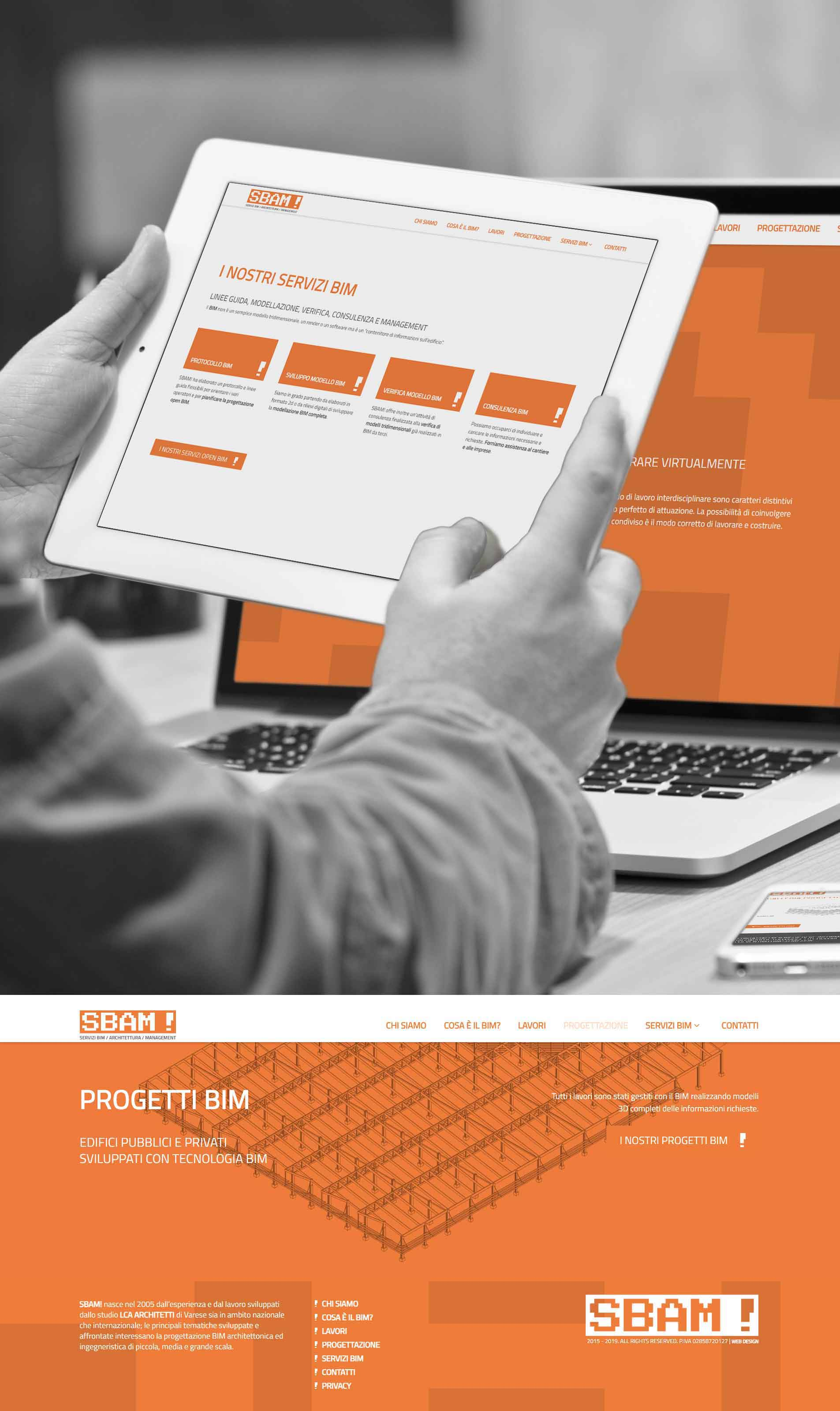 Design sito internet azienda