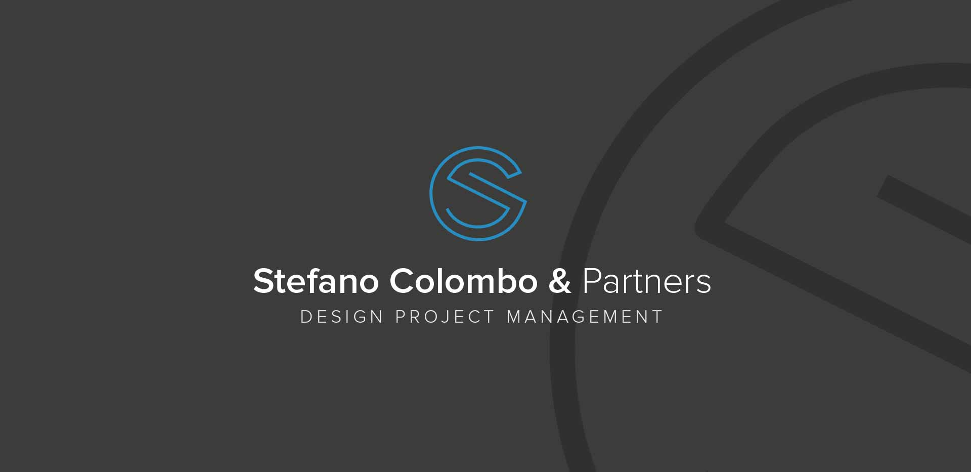 Negative version company corporate identity logo