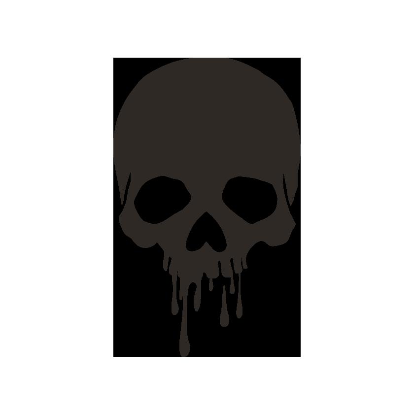 dark gothic beauty logo design