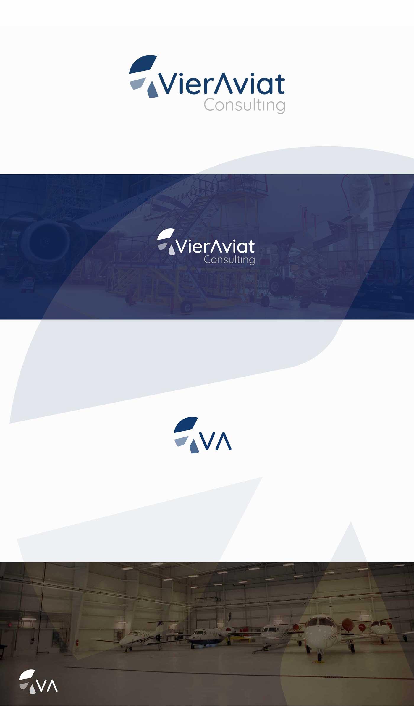 design logo startup aereonautica aviazione