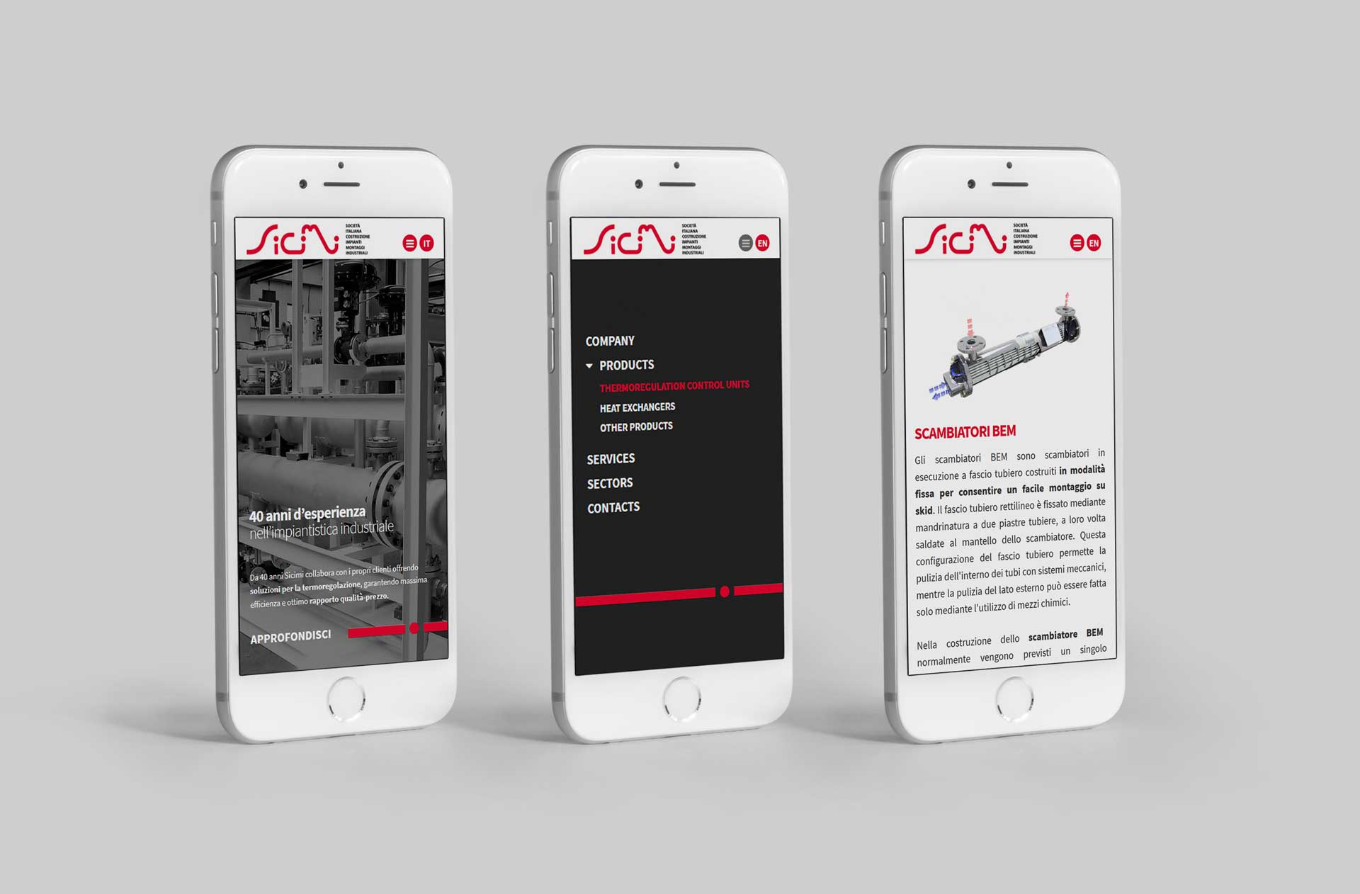 Example Design website mobile first