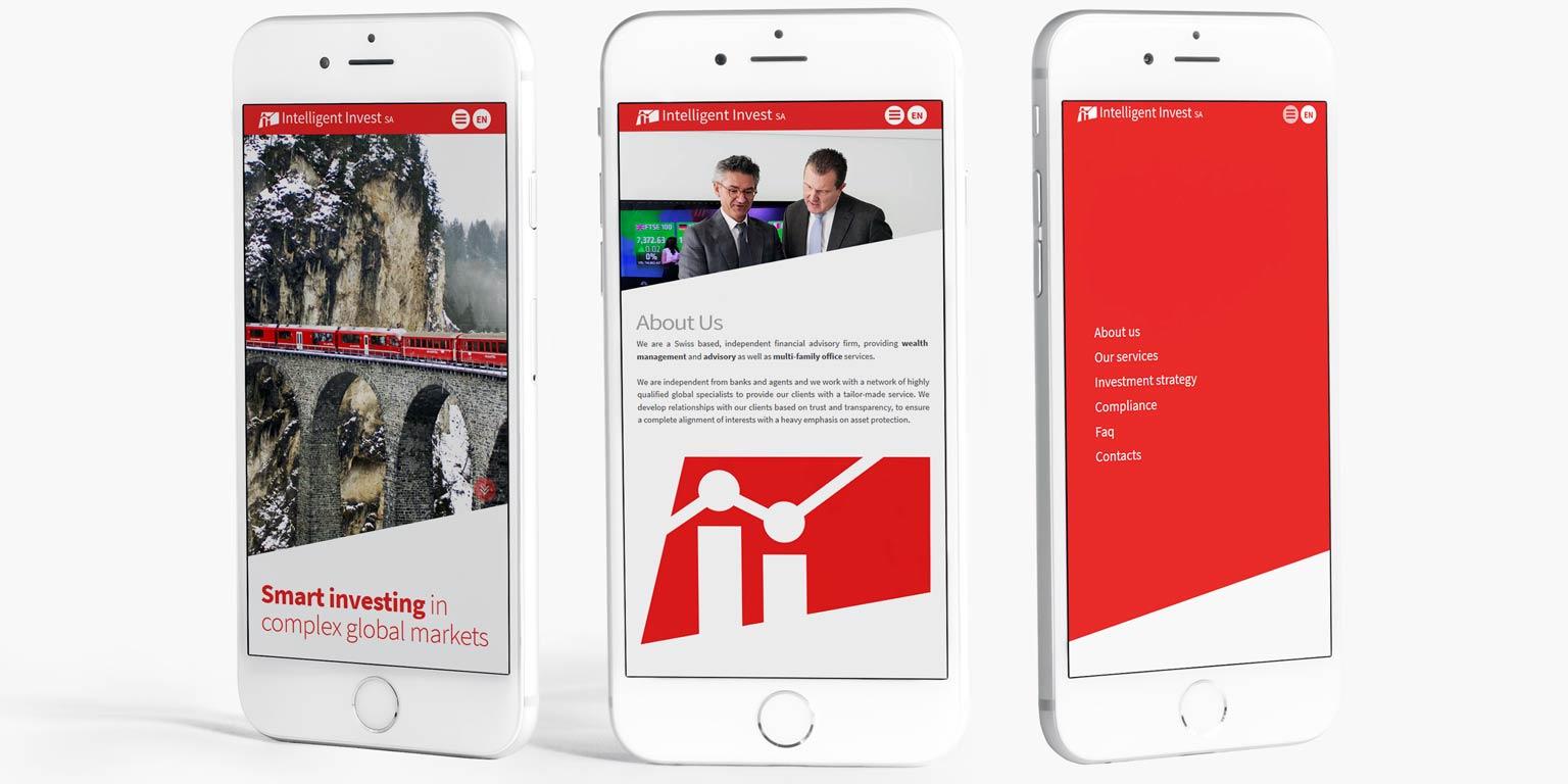 Financial company visual identity design