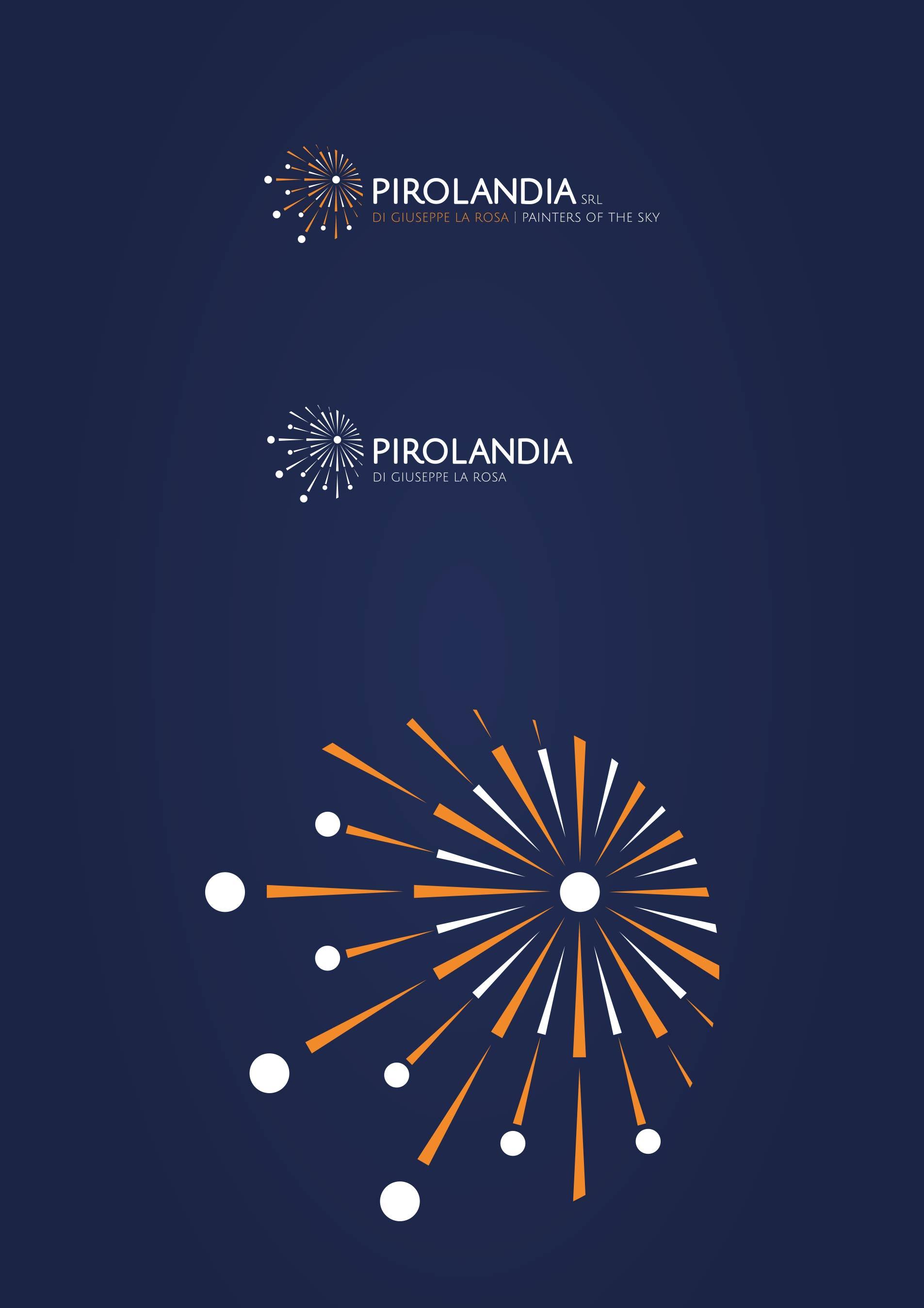 Logo e immagine coordinata azienda spettacoli pirotecnici