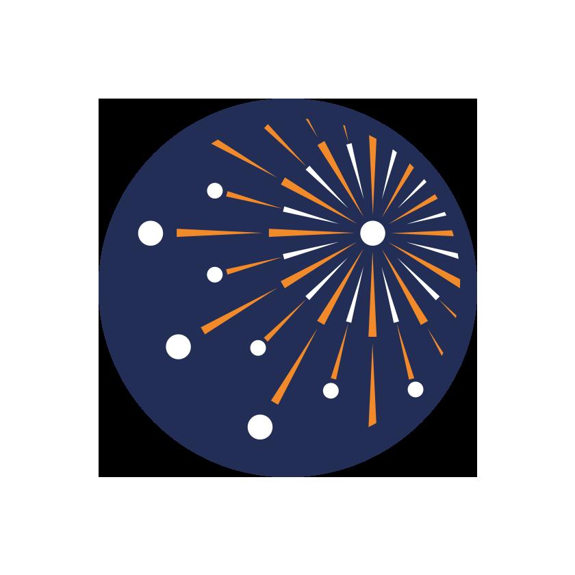logo immagine coordinata icona spettacoli pirotecnici