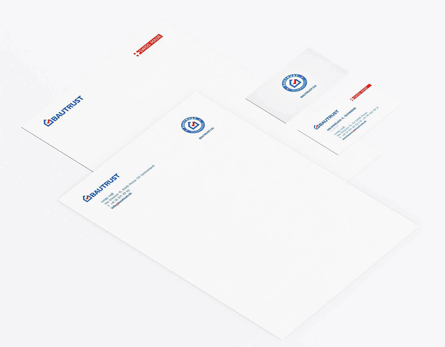design logo brand identity letterhead business card design