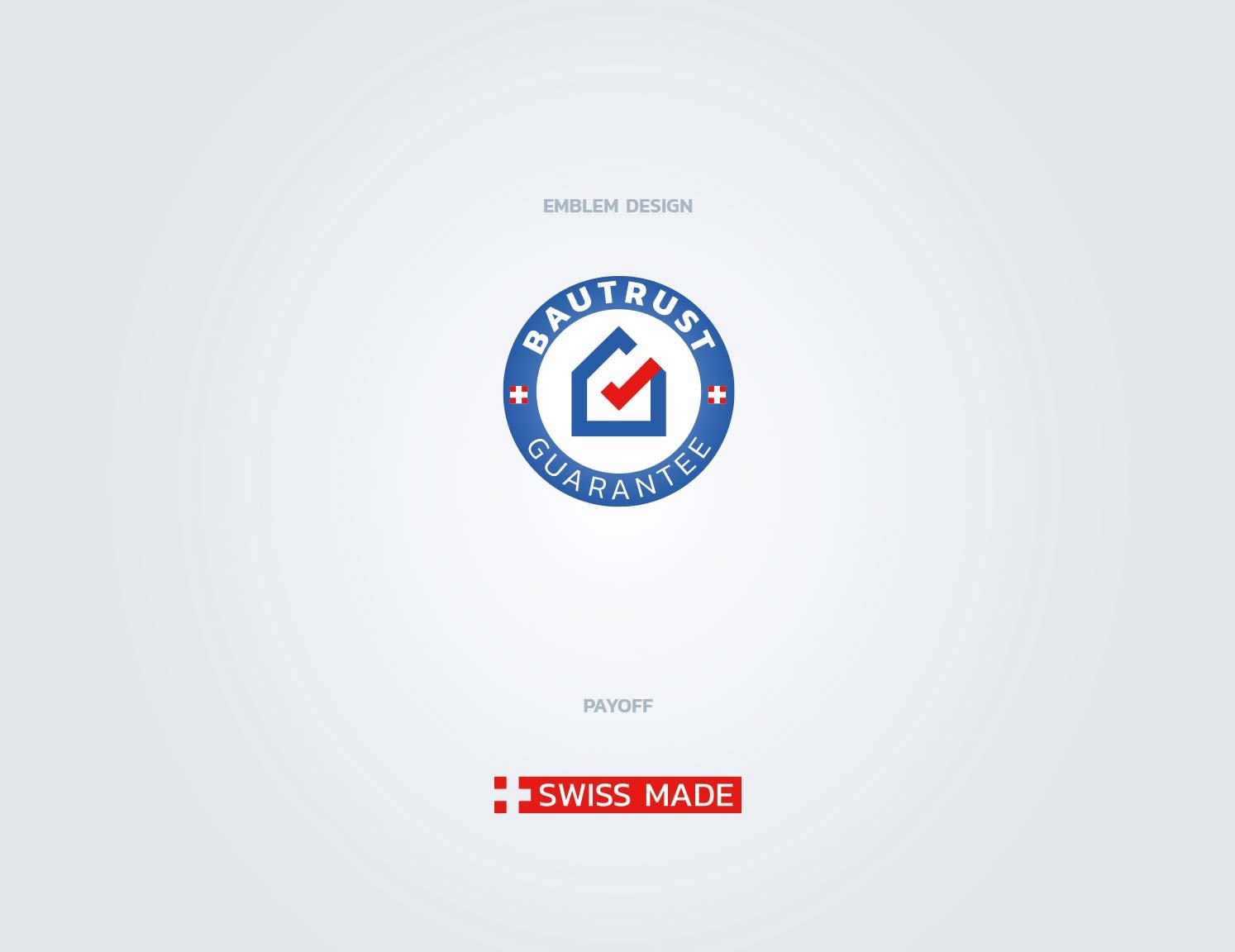 emblem logo brand identity design