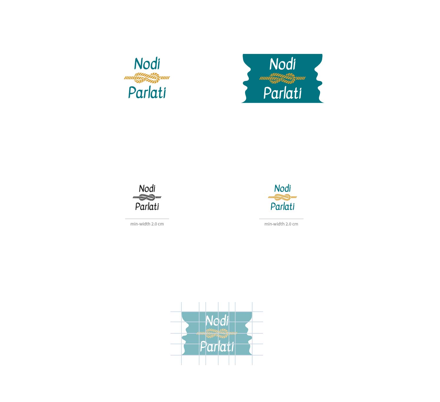 Brand identity design-logo formats and versions