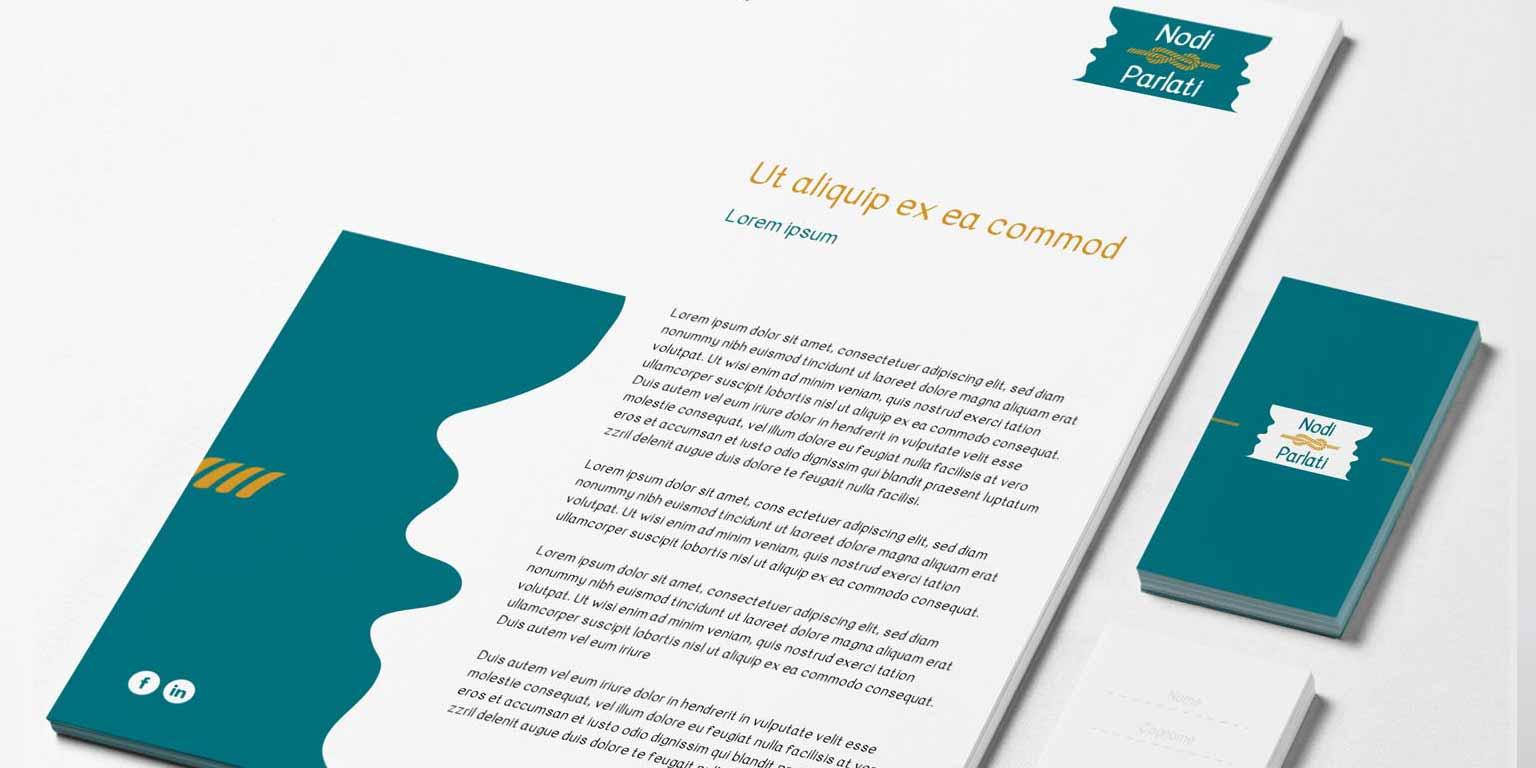 progettazione immagine coordinata e logo design