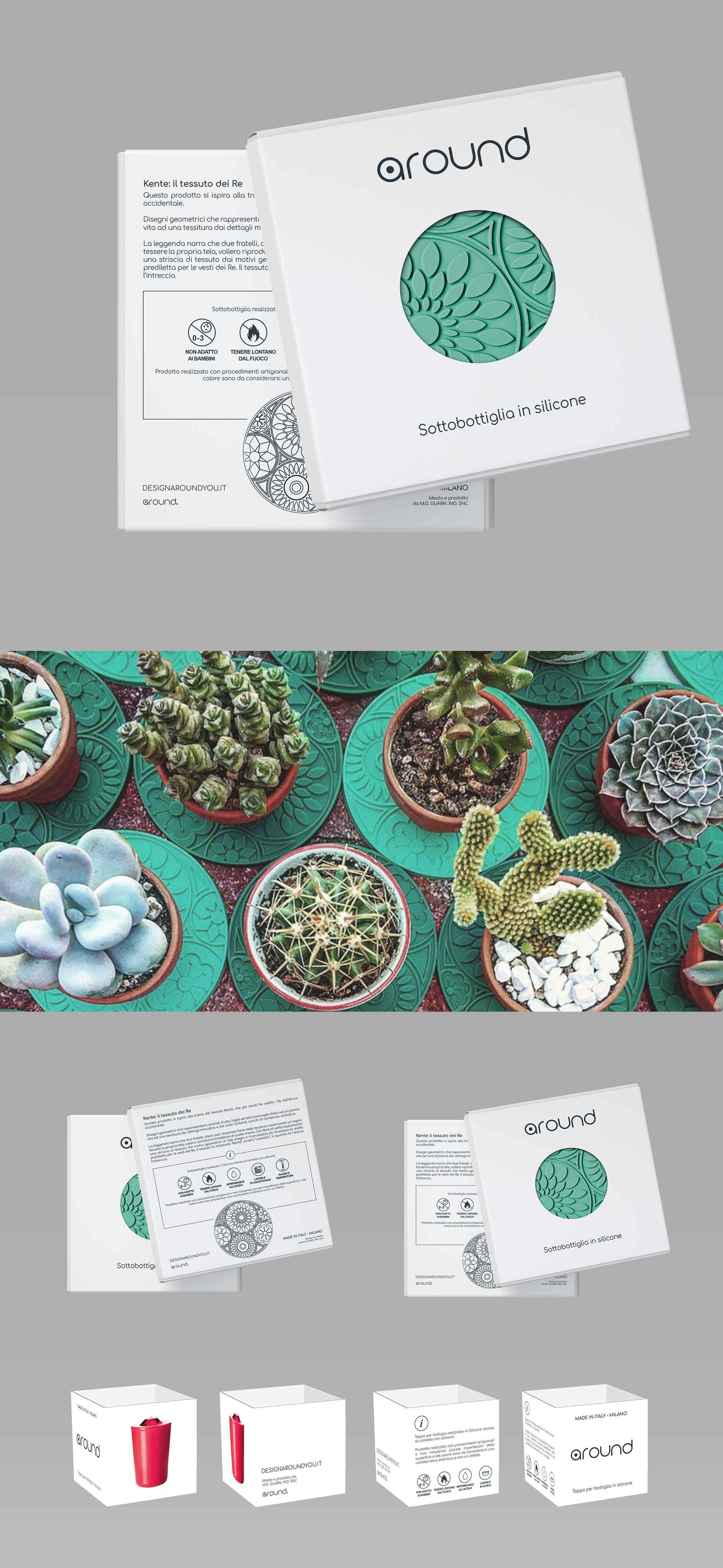 packaging design around