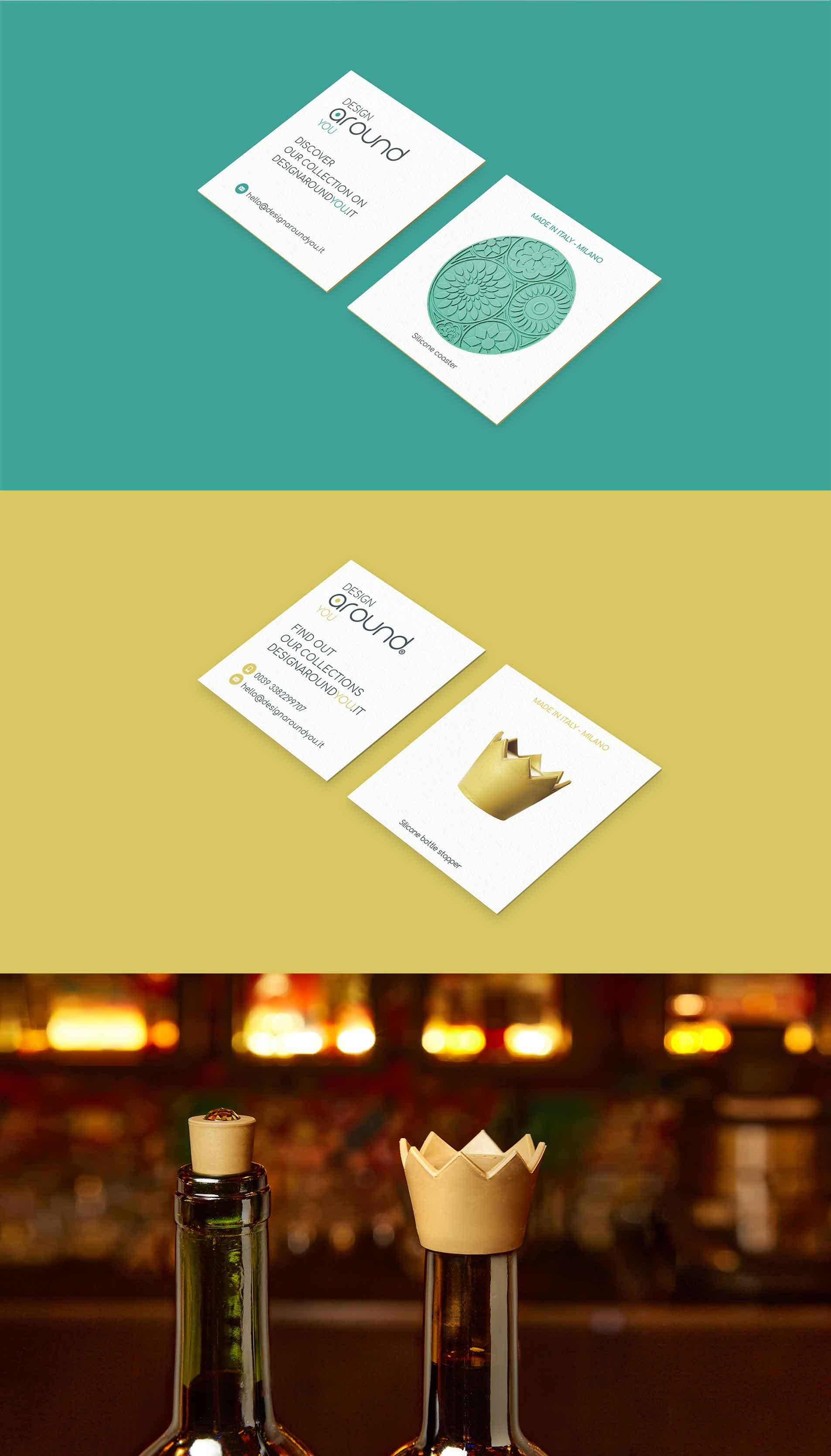 packaging design business card design